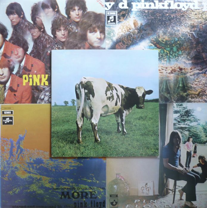 Pink Floyd - The First Five Albums (EMI / Columbia / Harvest 1967-1970) - NL and German press