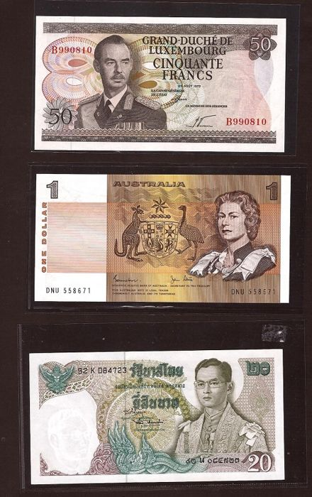 Monde - 10 banknotes - some better