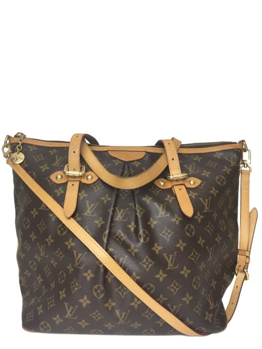 Louis Vuitton - Monogram Canvas Palermo GM Crossbody tas