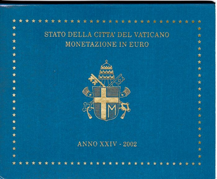 Vaticaan - Euro 2002 Divisionale  S.S. Giovanni Paolo II°