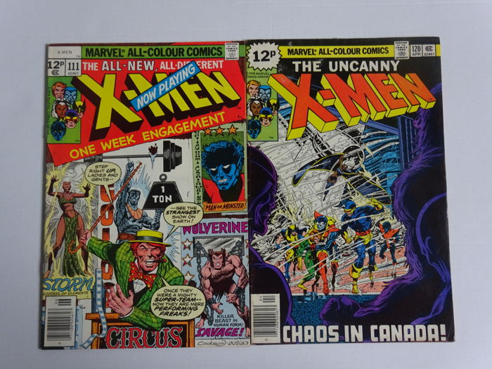X-Men #111 and #120 - Prima Edizione - (1978/1979)
