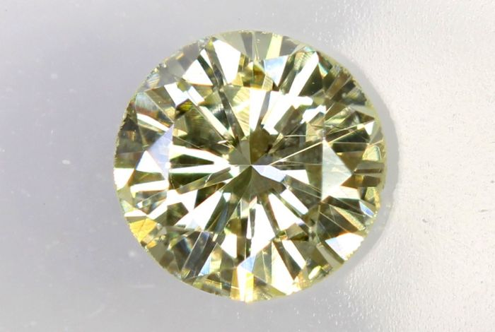 IGI Antwerp Sealed Diamond -  0.36 ct -  U-V, Light Yellow , SI1
