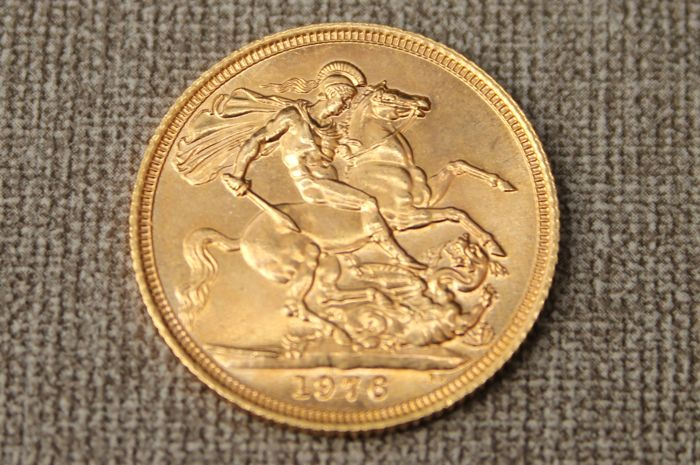 Great Britain - Sovereign 1976 Elizabeth II - Gold