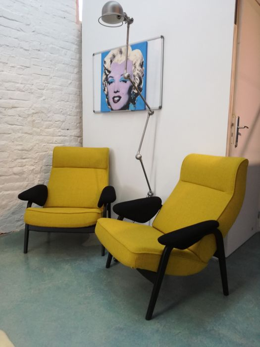 Theo Ruth for Artifort - two armchairs