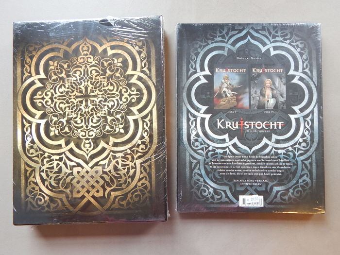Kruistocht 1 t/m 6  - in 2 opberg-boxen - Hardcover - (2010/2011)