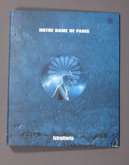 "Unfindable ""Notre Dame de Paris"" Musical Official Binder and notepads"