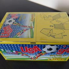 Panini - World Cup USA 1994 - Sealed unopened box UK edition with 100 packets.