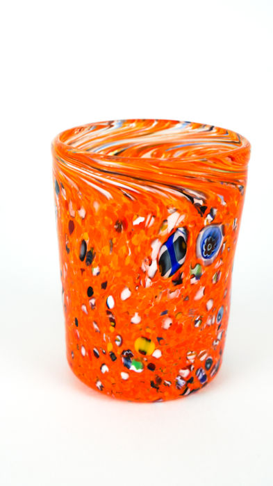 Roberto Beltrami (Murano) - Fantasy orange glass