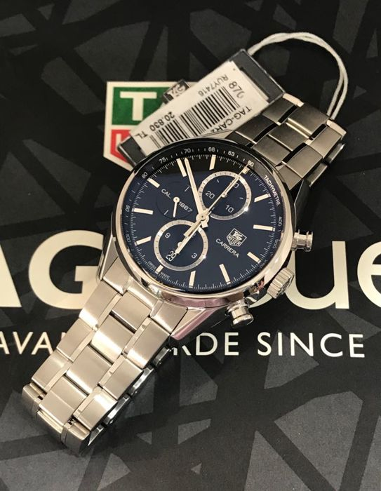 TAG Heuer - Carrera Calibre 1887 Chronograph - CAR2110.BA0724 - Men - 2018