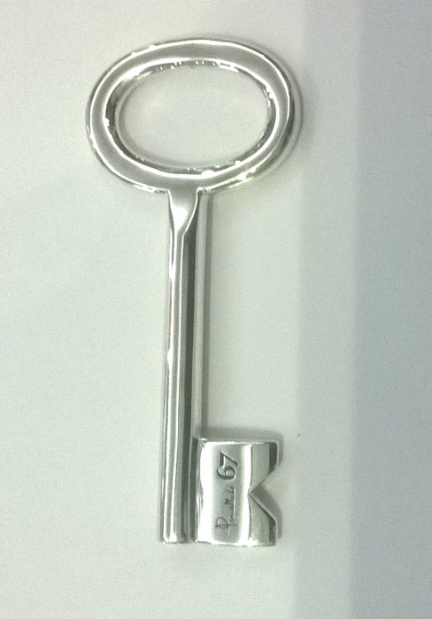 Pomellato Key Pendant made of .925 Silver - M. B228/A