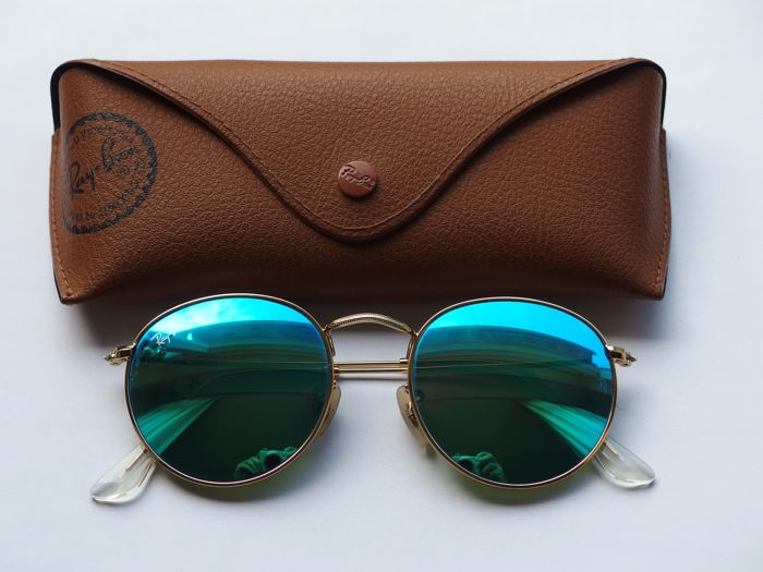 Ray-Ban - Ray-ban 3447 Blue mirror Sunglasses - Catawiki 7700bd1cef1a