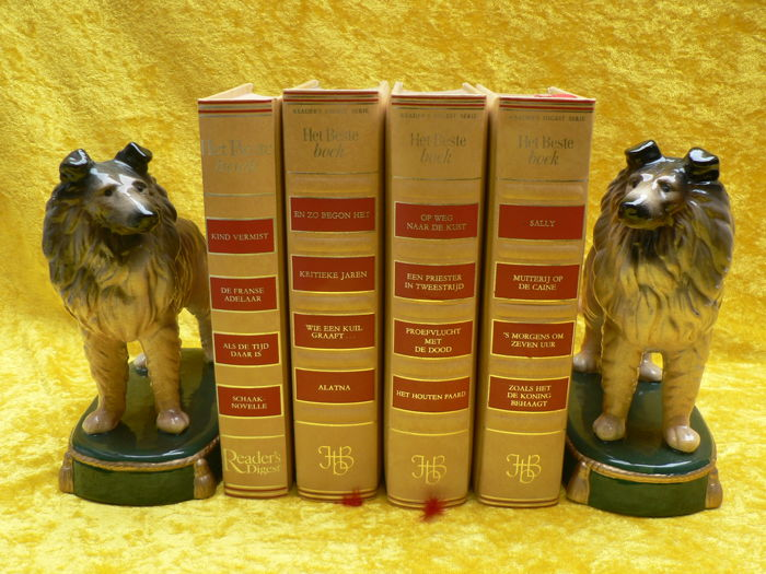 Exclusive Design - Collies bookends