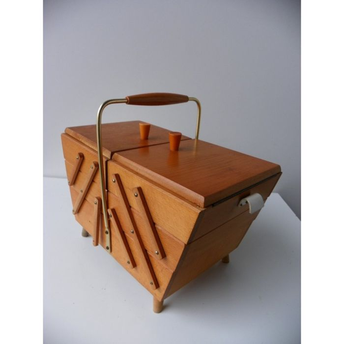 Unknown designer - Sewing chest with legs