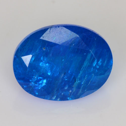 Apatite - Vivid blue - 1.97 ct - No reserve