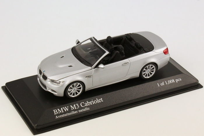 MiniChamps - 1:43 - BMW M3 Cabriolet E93 2008 - Limited Edition of 1.008 pcs.