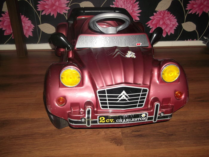 Modellen / Speelgoed - Citroen 2CV Charleston trapauto / pedal car (1 items)