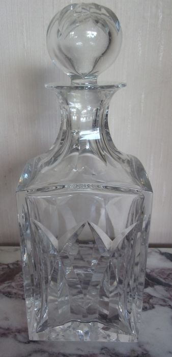 Saint Louis - Crystal whisky carafe - Chantilly Model