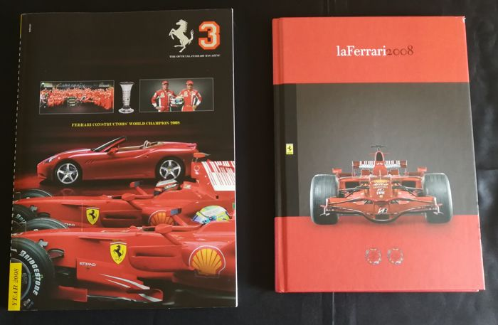 Annuario ufficiale 2008 (2008 Official Yearbook) - Book Ferrari world 2008