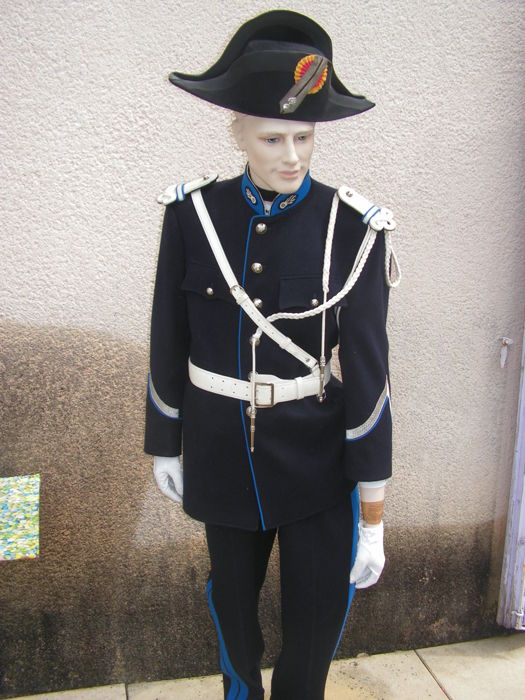 great parade uniform gendarme of Geneva