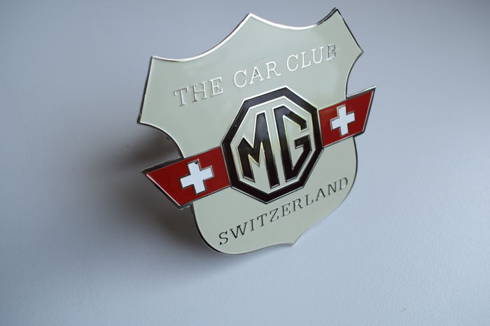 Badge - MG