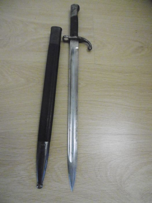 Brazilian Mauser Bayonet Model 1908,manufactured in Germany