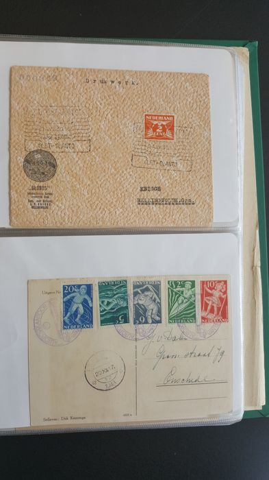 Netherlands 1939/1984 - Collection of covers Car post office