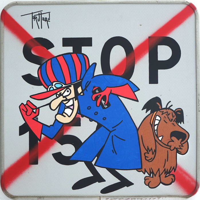 Truteau - Dastardly et Muttley The Vandals