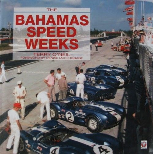 "Books - rare book ""The Bahamas Speed Weeks"" Ferrari Cobra (1 items)"