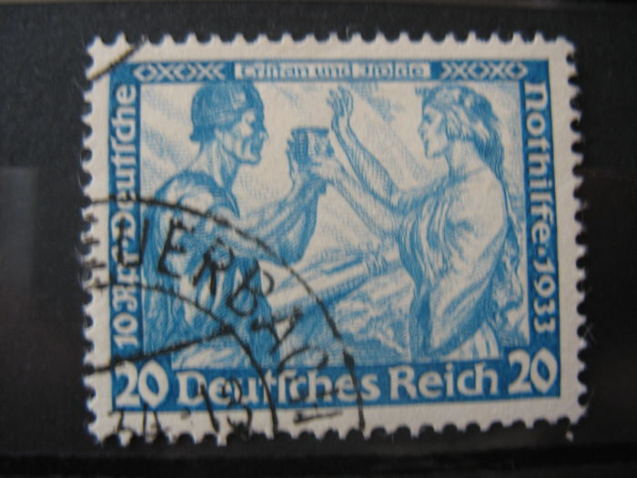 German Empire 1933 - 20 Pf Wagner - Michel Nummer 505 B