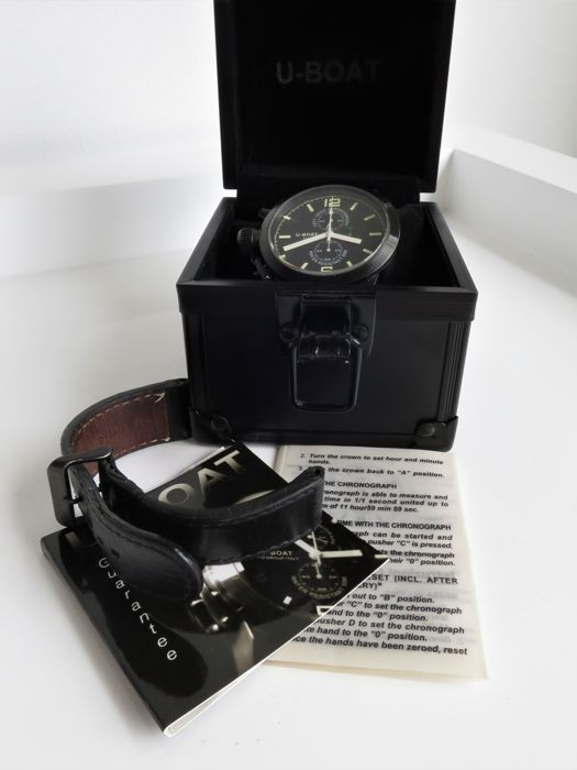 "U-Boat - PVD Chronograph Limited-Edition -""NO RESERVE PRICE"" - U-CN48 - Men - 2000-2010"