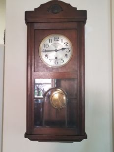 Large wooden pendulum clock - 1955