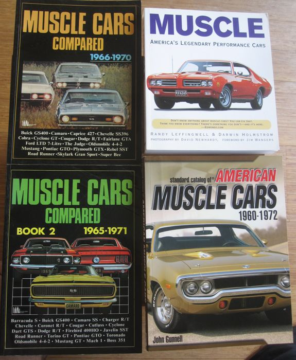Books - Muscle cars (4 items)