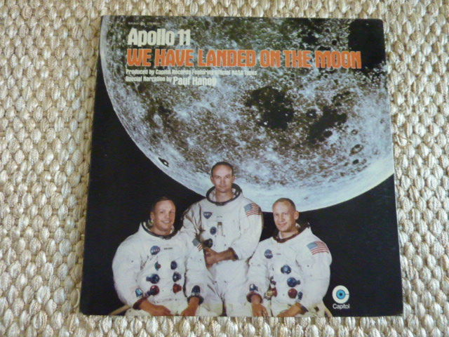 Apollo 11 - We have landed on the Moon - LP with sound recordings of the crew