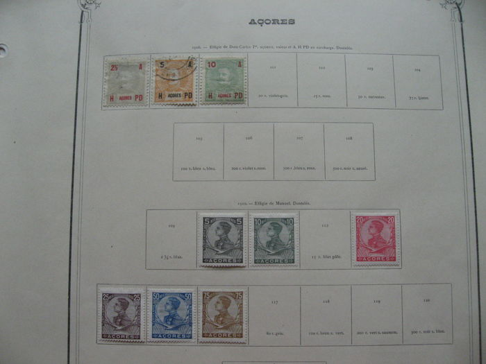 Ancienne Colonies Portuguaise 1890/1930 - Stempel collectie