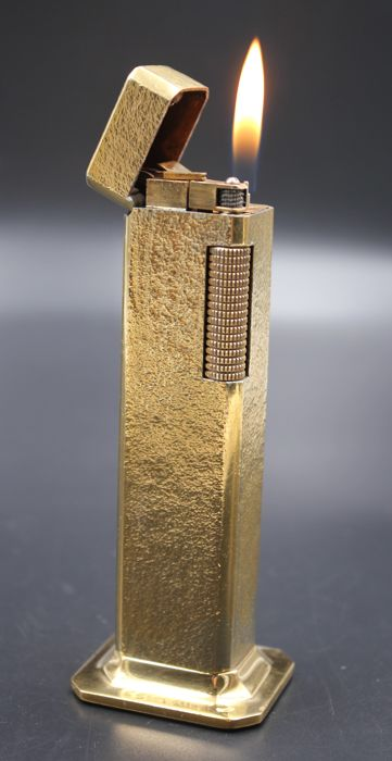 Dunhill Rollagas TALLBOY Lighter Gold Plated