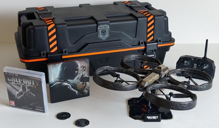 Collector edition Call of Duty Black Ops2 Care Package PS3 PlayStation - French Version