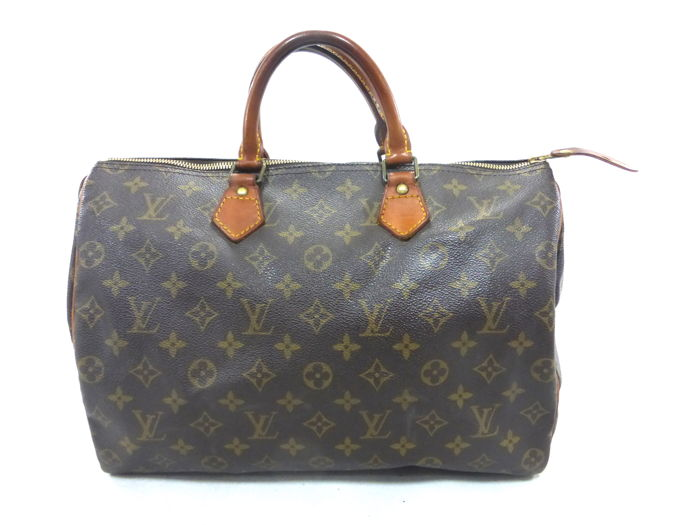 Louis Vuitton - Speedy 35 Monogram Handtas - Vintage