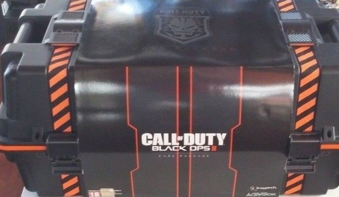 Collector edition Call of Duty Black Ops2 Care Package PS3
