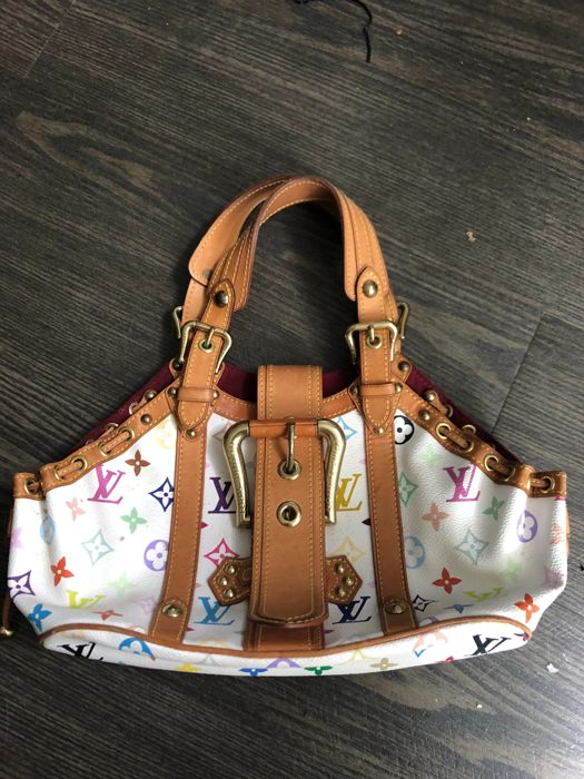 Louis Vuitton - Multicolor Theda GM Handbag