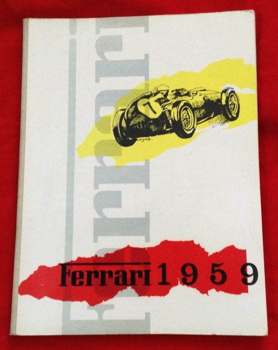 Boeken - Annuario Ferrari ufficiale 1959 Ferrari Yearbook  (1 items)