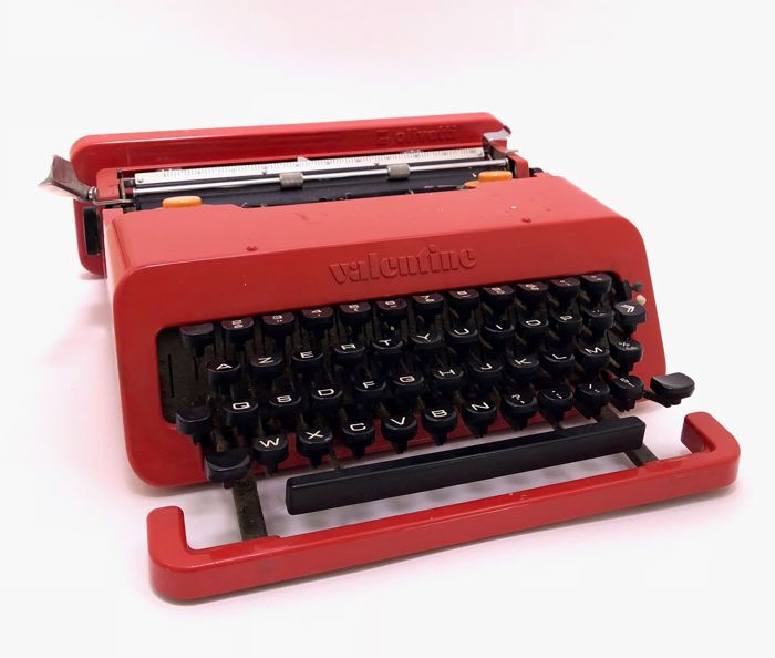 Perry King & Ettore Sottsass for Olivetti - 'Valentine' typewriter