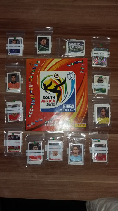 Panini - World Cup South Africa - empty album + complete loose set pictures (638).