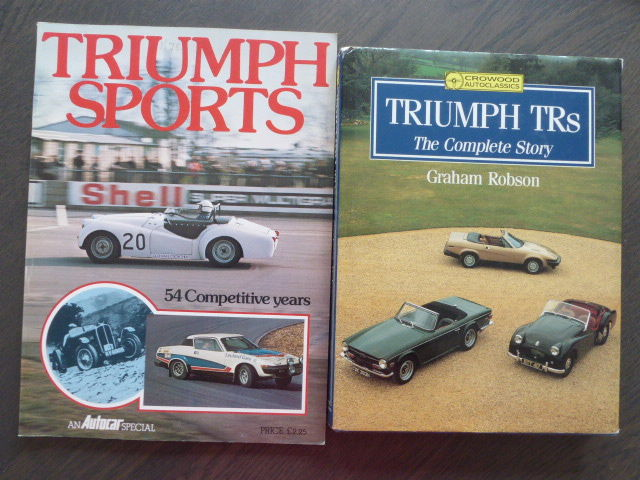 Boeken - Triumph TRs and Triumph Sports