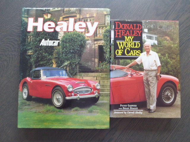 Books - Healey and Donald Healey My world of cars