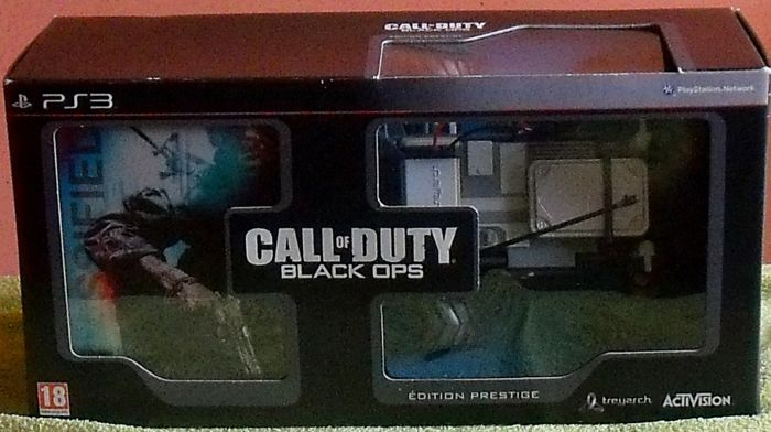 Call of Duty Black Ops Edition Prestige PS3 PlayStation * Collector* French Version
