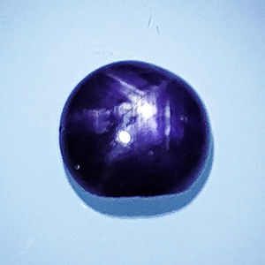 Violet Star Sapphire - 4.30 ct. - No Reserve Price