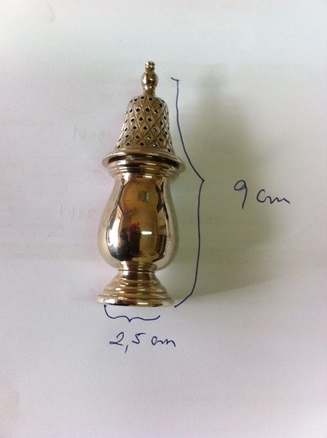 Toothpick holder in silver 925/1000 - 1980