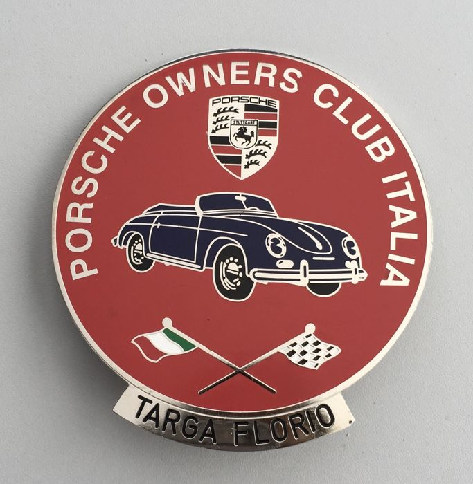 Badge - Porsche owners club - Grill Badge  (1 items)
