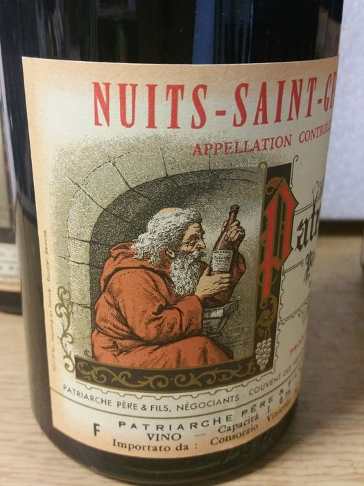 1964 Nuits-Saint-Georges-Patriarche Pere & Fils x 2 bottles - 1966 Nuits-Saint-Georges-Patriarche Pere & Fils x 2 bottles / 4 Bottles in total