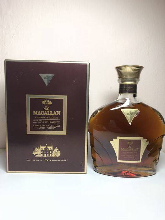Macallan Chairman's Release 1700 series - OB